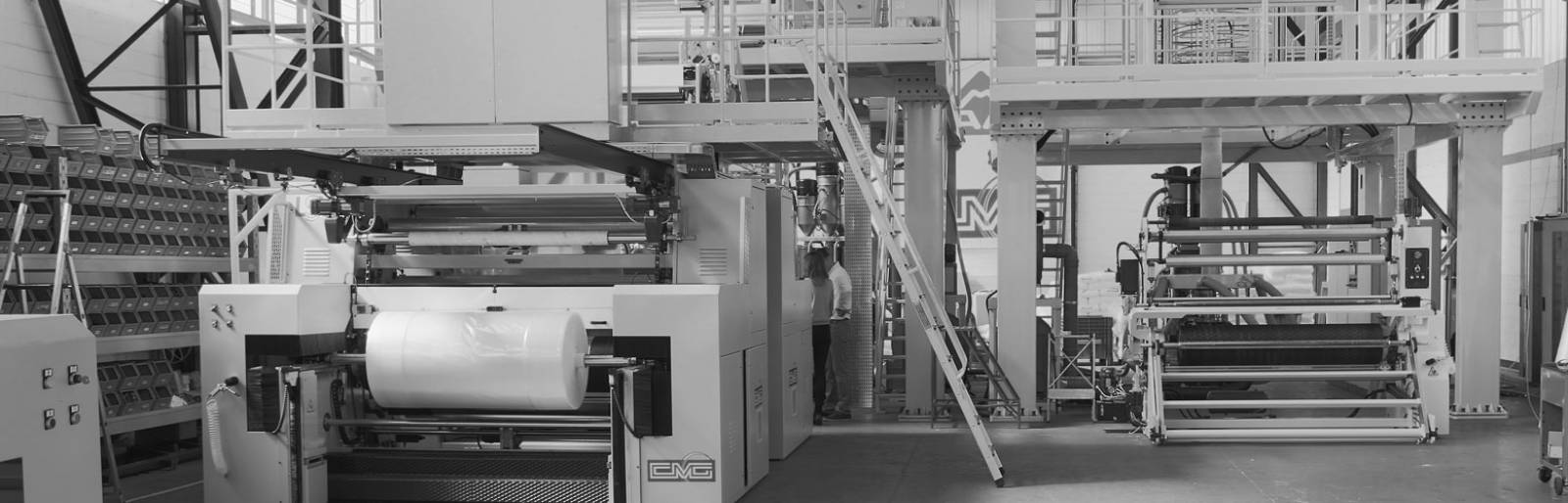 A wide range of blown film extrusion lines